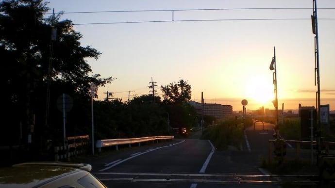 城東貨物線 - 赤川橋梁の夜明け