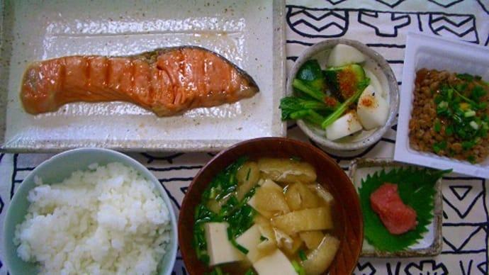 正しい日本の朝食