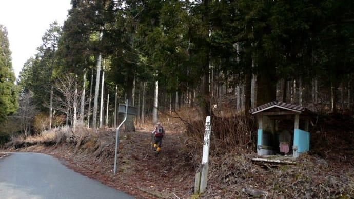 高野峠~一山(1065m)