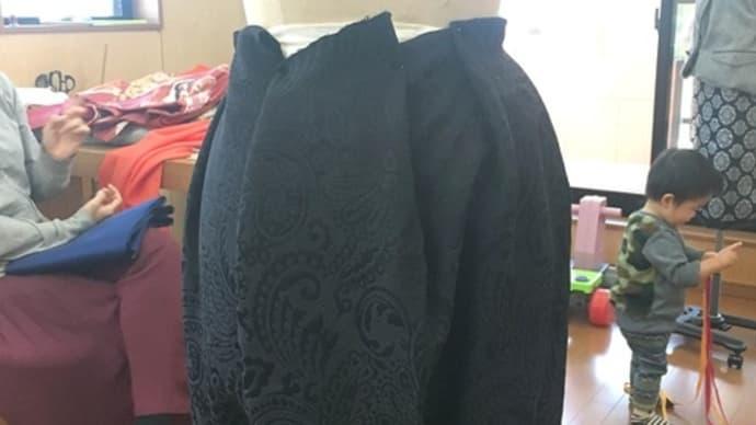 帯からスカートへ