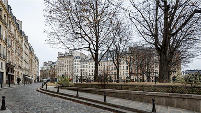 パリ・冬広場