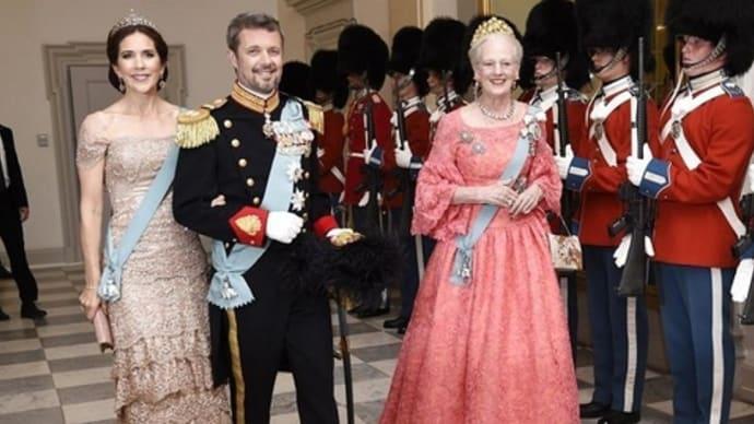 フレデリク王太子50歳誕生祝い晩餐会 - ✦世界の王室✦