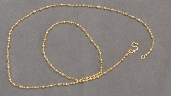ネックチェーンの金具交換(K24)