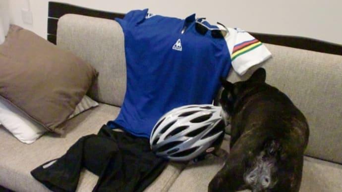 隊長。サイクリングに行ってくるよ。