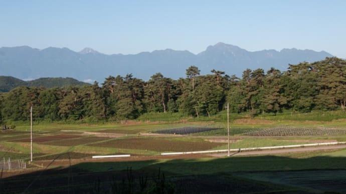 南アルプス~八ヶ岳 久しぶりの眺め