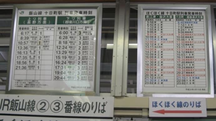 09年1月長野方面と名古屋の旅(その3・いよいよ飯山線に)