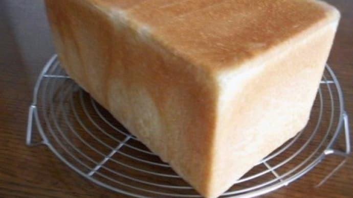 また いつもの角食パン