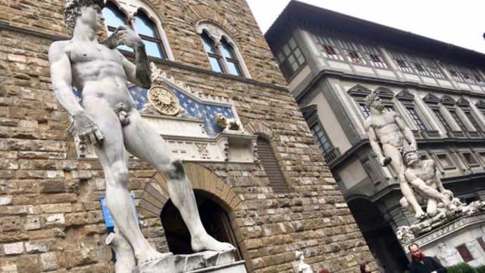 イタリアも三寒四温@ファレンツェ