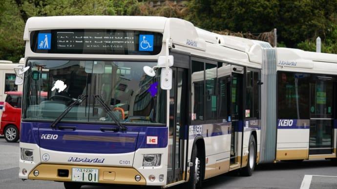 #2021 日野・ブルーリボンハイブリッド連節バス(日野自動車前/京王電鉄バス・八王子営業所) KX525Z1