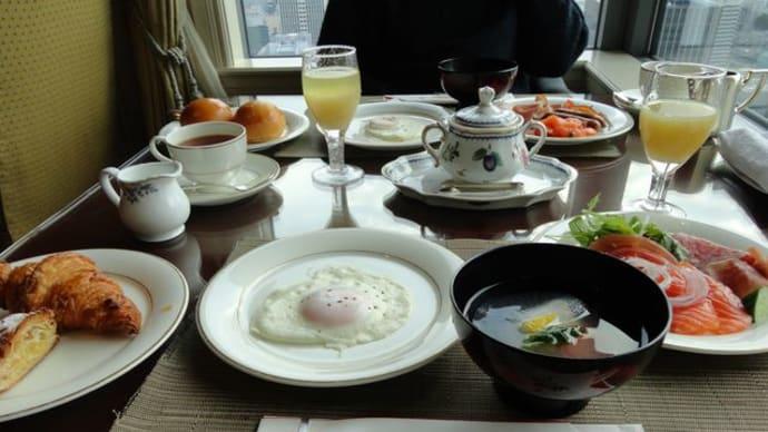 ザ・リッツ・カールトン大阪*クラブラウンジにて朝食♪