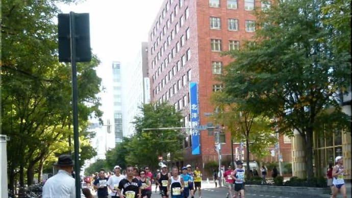第41回 札幌マラソンの応援に!