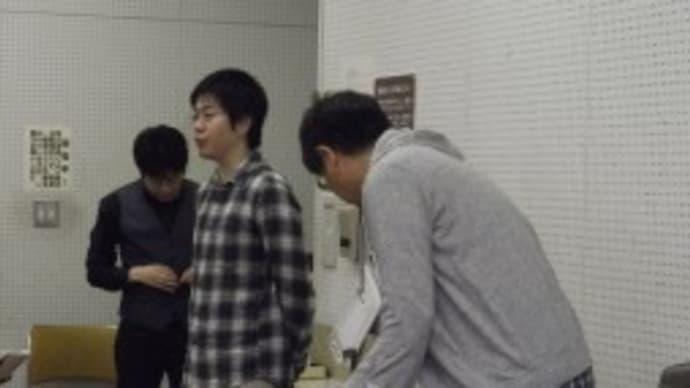 細谷先生をお迎えしてコンクール強化練習写真 (文化会館)