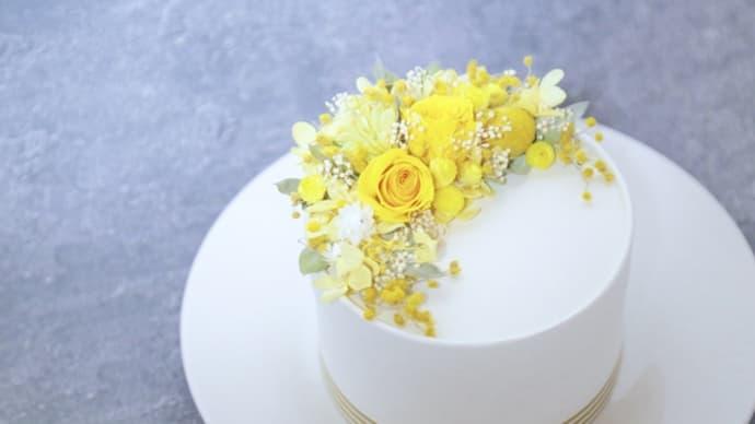 川西阪急 3月のナチュールサロン「ミモザのケーキボックス」