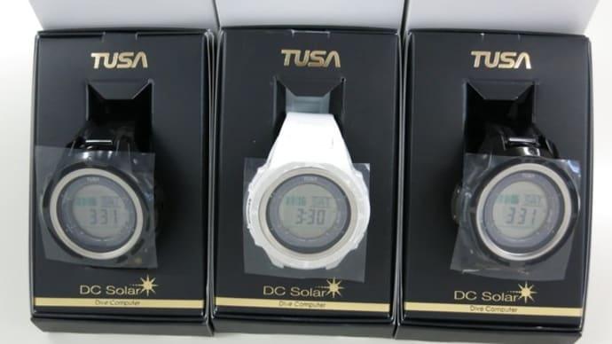 TUSA DC Solar IQ1203ダイブコンピュータ入荷
