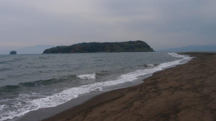 知林ヶ島を見て指宿温泉から池田湖に行く、そして道の駅「川辺やすらぎの郷」に(2016/2/5)