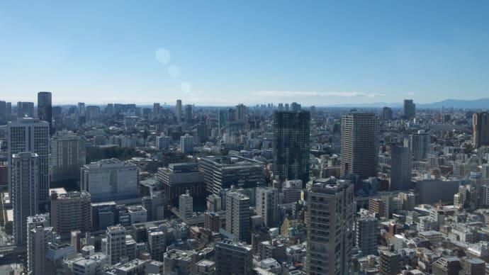 2月の東京タワー:大展望台(第一展望台)から眺める東京の風景 PART4