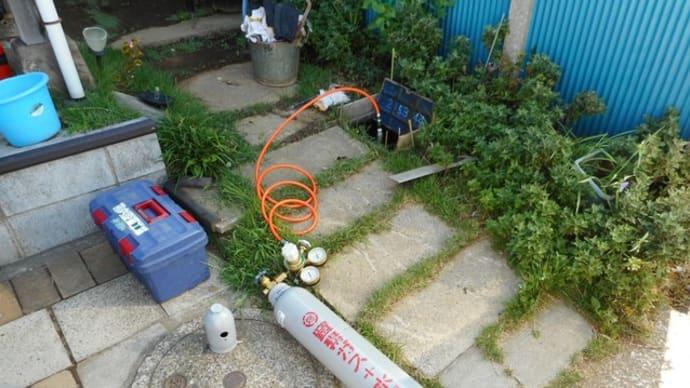 トレーサーガスを使って漏水調査・・・千葉市