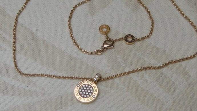 ブルガリのネックレス金具修理