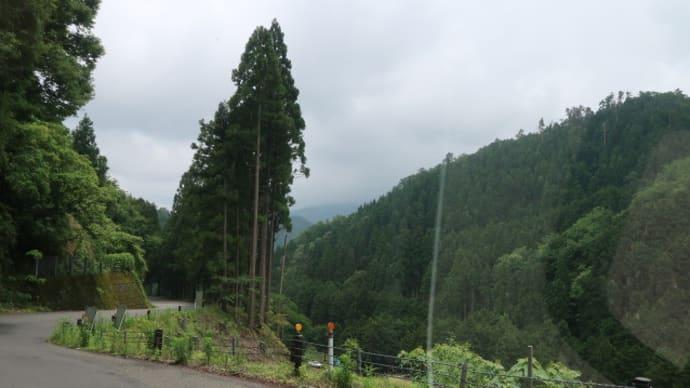 今日も下道で330キロ弱を走って、富山県の道の駅福光に着いた (2018/6/9)