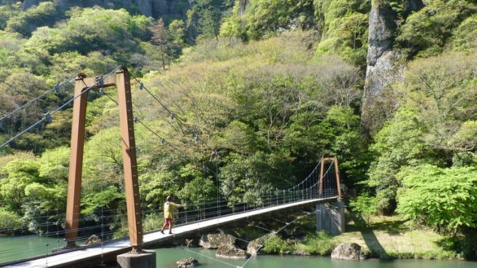 立久恵峡~須佐神社のドライブ