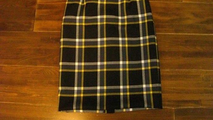手縫いのスカート