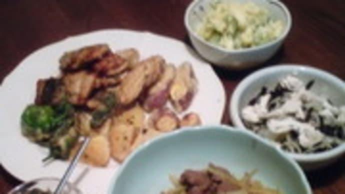牛肉とセロリのさっと煮