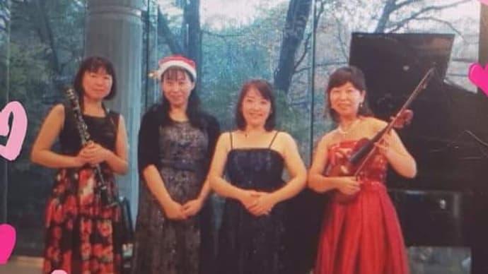 クリスマスコンサート無事終わりました🎄🎅🎁✨