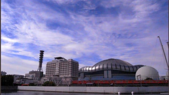 大阪ドームとJR環状線