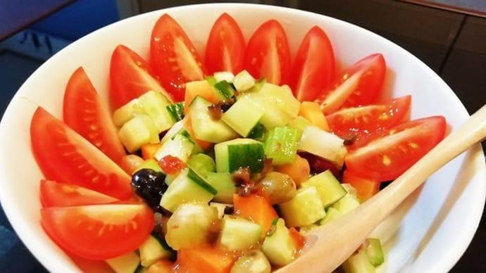 ケーブ発案!スプーンで食べるサラダ