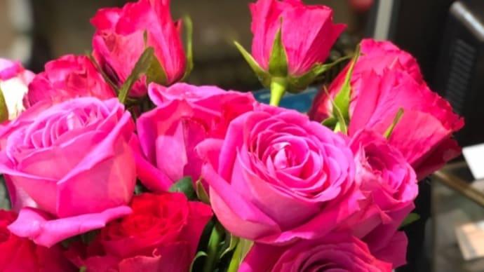 今週のフロントの花
