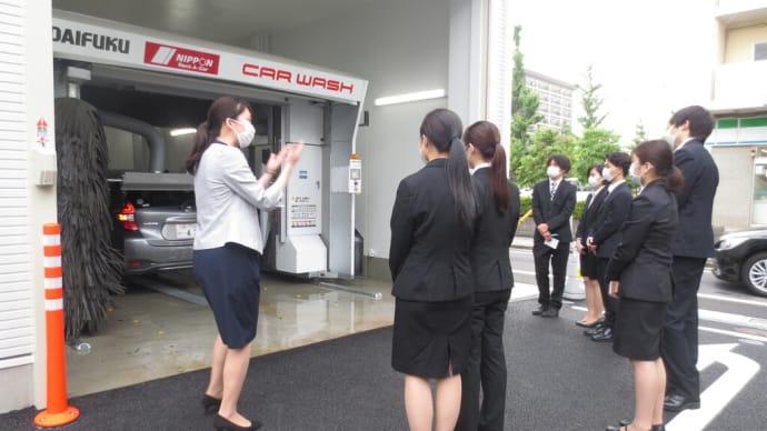 コース別研修 ニッポンレンタカーアーバンネット株式会社訪問