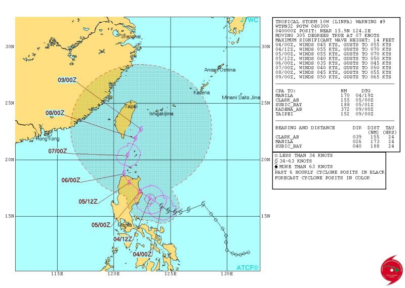 米 軍 情報 10 号 台風