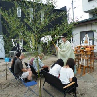 祝・坂出市加茂町 地鎮祭