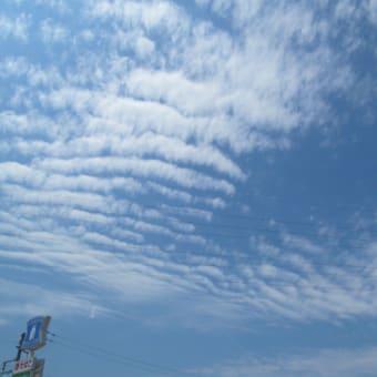 久しぶりに雲を撮影した
