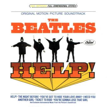 何故か、キャピトルからリリースされたサウンドトラック盤 ~ US編集アルバム『Help!』