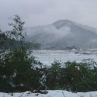 雪景色がそこまで