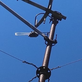 茅ヶ崎市東海岸 アンテナ立て替え工事