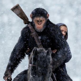 【映画】猿の惑星:聖戦記(映画鑑賞日記棚卸149)…このあと宇宙の偶然で未来の地球に宇宙飛行士が戻ってくるSFになってしまうとすれば勿体無い