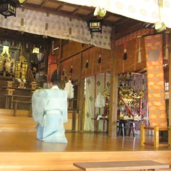 朝日舞演舞