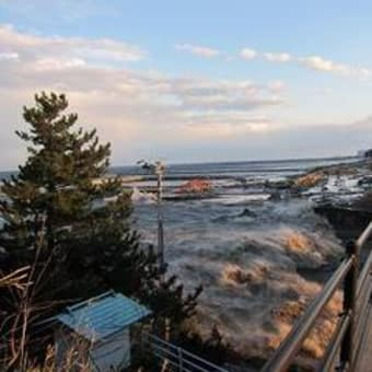 これが21メートルの津波です!