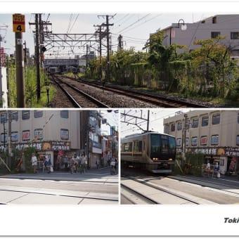 JR片町線〔学研都市線〕・四条畷駅付近