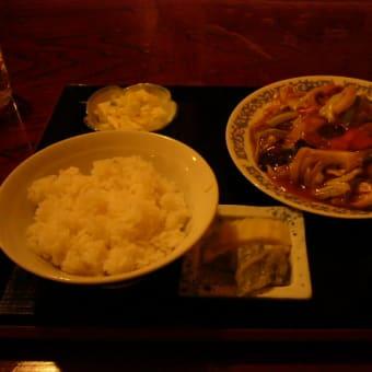 肉野菜うま煮定食