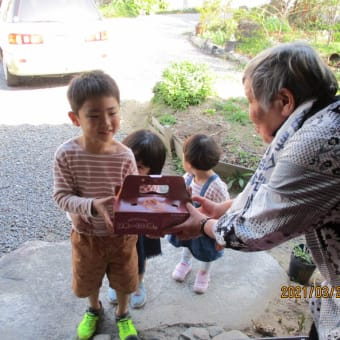 託老所あんき 子供の手と春爛漫 パート2