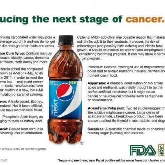 【コーラの恐怖】日本のコーラの発ガン性物質は、カリフォルニアの18倍『コーラもペプシも飲めなくなる話』
