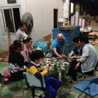 上海農民工の生活