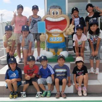 中分スポーツ少年団 キャンプ