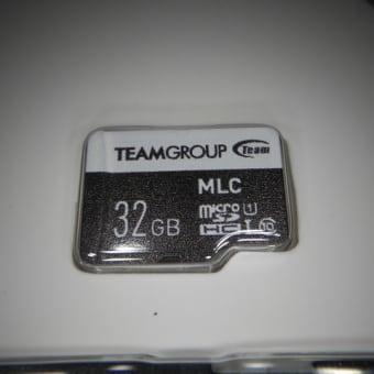 ドライブレコーダーのSDカードの交換