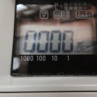 ガスメーター ZERO ☆