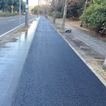 配水管布設工事の本復旧・・・千葉県企業局