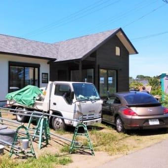 良い家を造ってわくわくプロジェクト!!『 長者小学校のお向かいHome(仮) 』⌂Made in 外房の家。はようやくのようやく。。。建物工事仕上げに入っております!